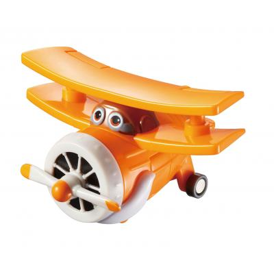 Alpha animation & toys toy vehicle: Super Wings Speelfiguren Transform-A-Bots! Grand Albert - Oranje, Wit