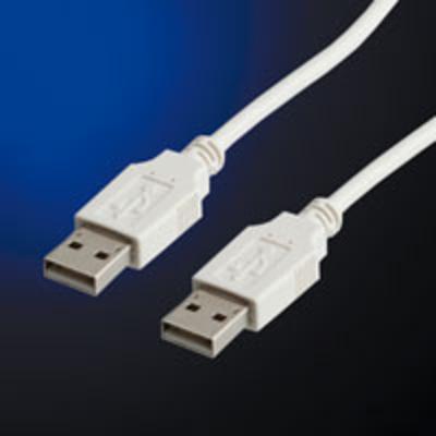 ROLINE USB 2.0 Cable USB kabel - Wit