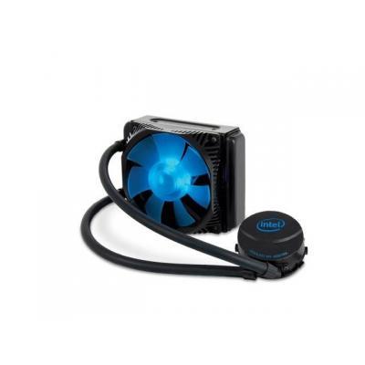 Intel water & freon koeling: TS13X liquid-cooled thermal solution - Zwart, Blauw