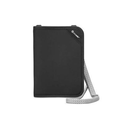 Pacsafe portemonnee: V150 - Zwart