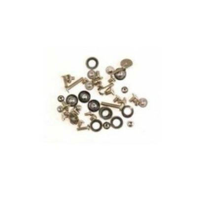 Microspareparts mobile schroef en bout: Apple iPhone 4 Screw Set - Metallic