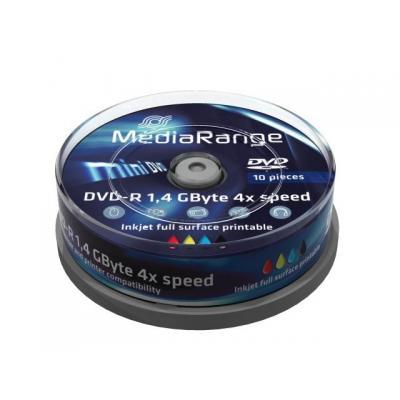 Mediarange DVD: MR430 cake box white inkjet