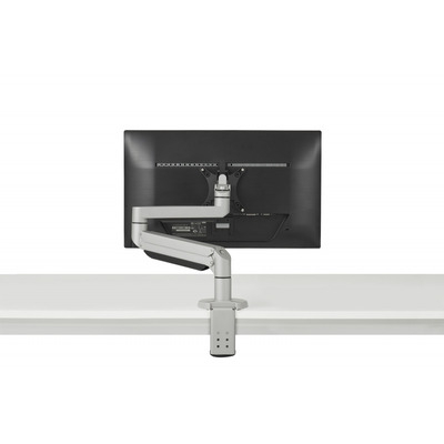 BakkerElkhuizen Premium Office Single Monitorarm - Zilver