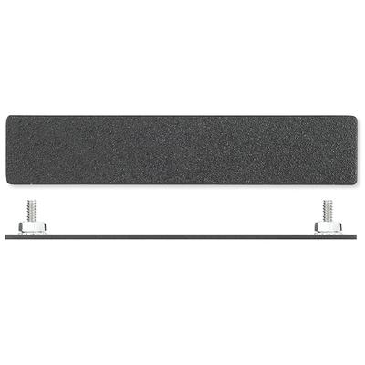 Extron Blank Plate - Single Single Space AAP - Black: Blank Plate Montagekit - Zwart