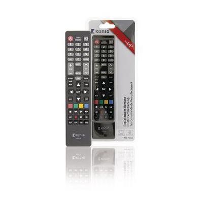 König afstandsbediening: Preprogrammed Remote Control 1 LG, black - Zwart