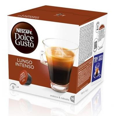 Nescafé koffie: Dolce Gusto Lungo Intenso - Zwart