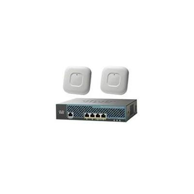 Cisco access point: 2 x Aironet 1700 Access Points + 2504 Wireless Controller - Wit