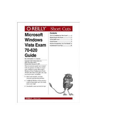 O'reilly boek: Media Microsoft Windows Vista Exam 70-620 Guide - eBook (PDF)