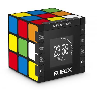 Bigben interactive Speaker: Big Ben, Radio Clock Rubik's Cube