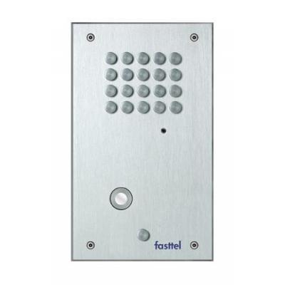Fasttel deurbel: Flexitalk DB9610VCF - Grijs
