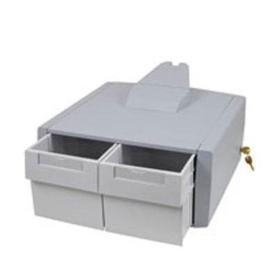 Ergotron SV Primary Storage Drawer, Double Tall Multimedia accessoire - Grijs