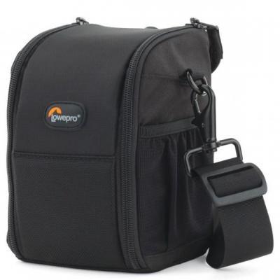 Lowepro optische case: S&F Lens Exchange Case 100 AW - Zwart