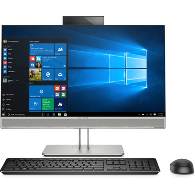 HP EliteOne 800 G5 All-in-one pc - Zilver
