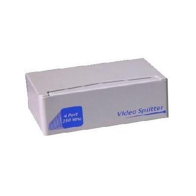 "Microconnect video splitter: VGA Splitter, 2.54 cm (1 "") 4 out - Zilver"
