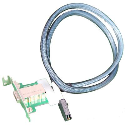 Supermicro IPass/IPass Interfaceadapter - Blauw, Nikkel