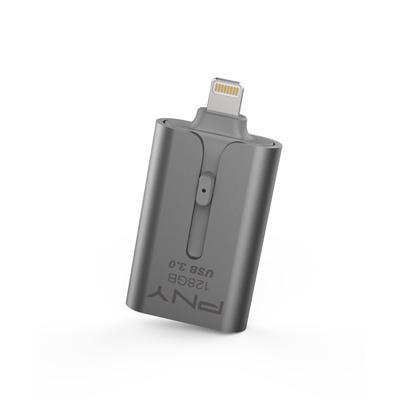 PNY Duo-Link 3.0 USB flash drive - Grijs