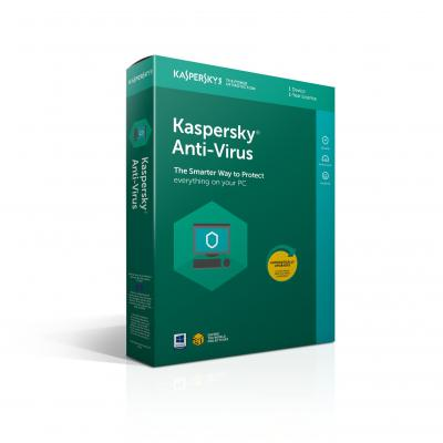 Kaspersky lab software: Anti-Virus 2018