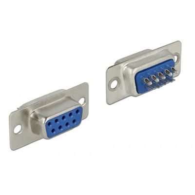 DeLOCK 65882 Kabel connector - Blauw, Zilver