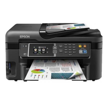 Epson multifunctional: WorkForce WF-3620DWF - Zwart, Cyaan, Magenta, Geel