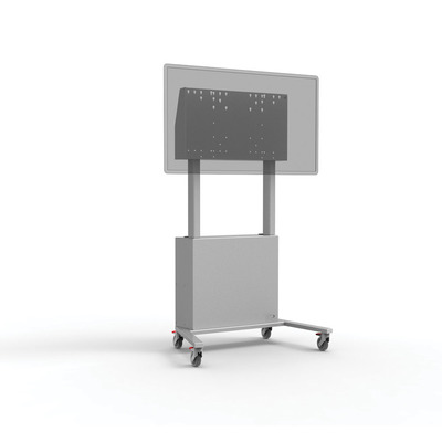 ErgoXS 100 kg, 800 x 400 mm VESA, aluminium Montagehaak - Aluminium, Grijs