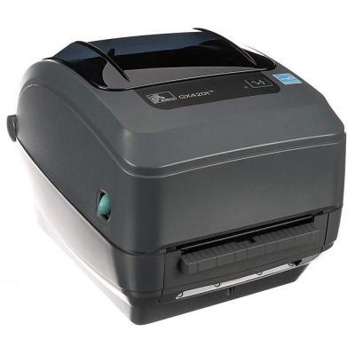 Zebra GX420t TT - USB - Ethernet - Afpelsysteem Labelprinter - Grijs