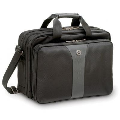 Wenger/swissgear laptoptas: Legacy 16 - Zwart, Grijs