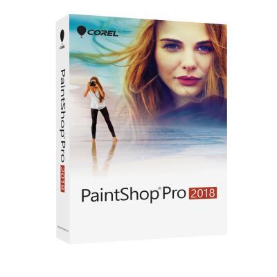 Corel grafische software: PaintShop Pro 2018 - Multi Language