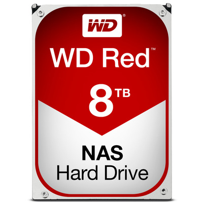 "Western Digital WD Red 8TB 5400rpm 3,5"" SATA Interne harde schijf"