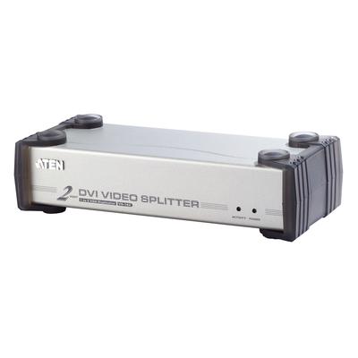 Aten 2 Port DVI at 1600x1200 DDC2B / Cascadable / DVI-D & DVI-A compliant Video splitter