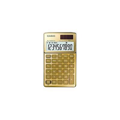 Casio calculator: SL-1000TW - Goud