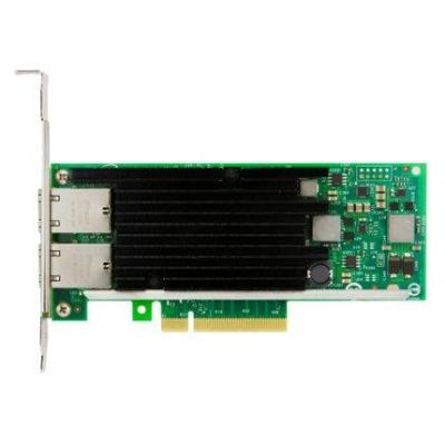 Lenovo Intel X540-T2 Dual Port 10GBaseT Adapter Netwerkkaart - Zwart, Groen, Roestvrijstaal