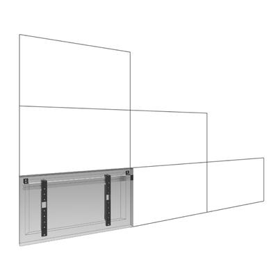 SmartMetals 172.1233-55 flat panel muur steunen