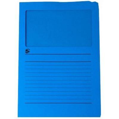 5star map: A4 (22 x 31 cm), 120 g/m2, Blue - Blauw