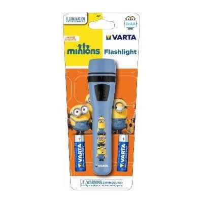 Varta zaklantaarn: Minions Flashlight 2AA - Blauw