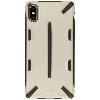 Dual X Backcover iPhone Xs Max - Brons Mobile phone case