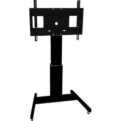 "Viewsonic Motorized height adjustable trolley for 42""-100"" Displays TV standaard - Zwart"