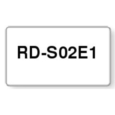 Brother RD-S02E1 labelprinter tape