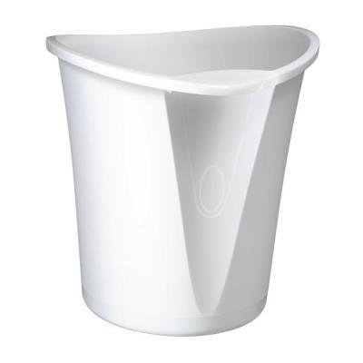 Leitz prullenbak: Allura papiermand Wit, 18 liter