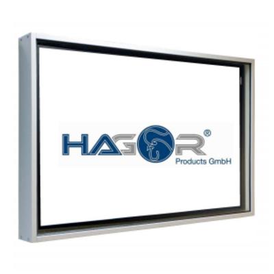 "Hagor HAG-BR-1-40"" Montagehaak - Zilver"