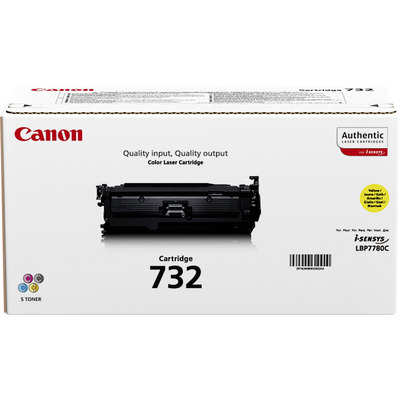 Canon 732Y Toner - Geel