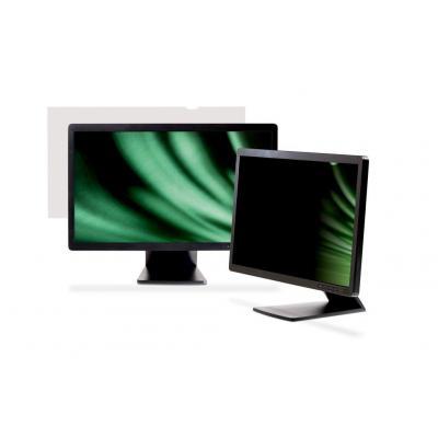 """3m schermfilter: Privacyfilter voor lcd-breedbeeldscherm voor desktop 21.5"""" - Transparant"""