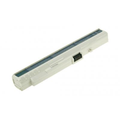 2-power batterij: 11.1v 2300mAh Li-Ion Laptop Battery - Wit