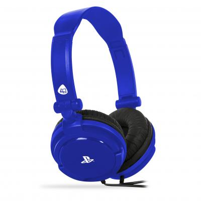 4gamers game assecoire: PRO4-10 Stereo Gaming Headset (Blauw)  PS4