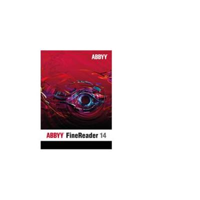Abbyy product: FineReader 14 Standard