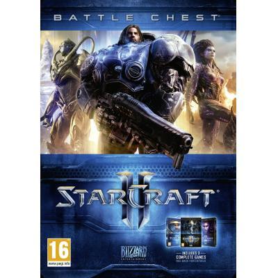 Blizzard game: Starcraft 2, Battle Chest 2.0  PC