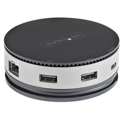 StarTech.com USB-C Multiport Adapter USB 3.1 Gen 2 10Gbps Type-C Mini Dock met 4K 60Hz HDMI/DisplayPort of .....