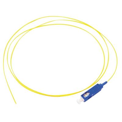 Lanview SC/UPC, 9 / 125 µm, OS2, PVC, 2 m, Yellow Fiber optic kabel - Geel