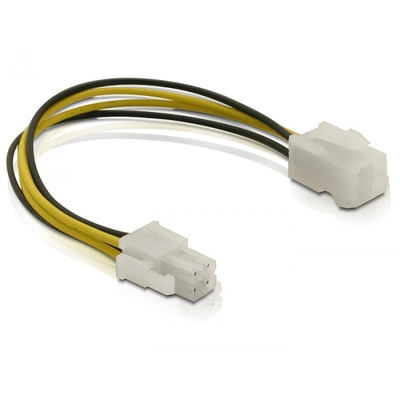 DeLOCK Power cable P4 male/female