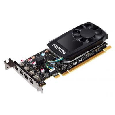Lenovo NVIDIA Quadro P620, PCI Express x16 3.0, 2GB GDDR5, 128bits, 4 x mDP 1.4 Videokaart