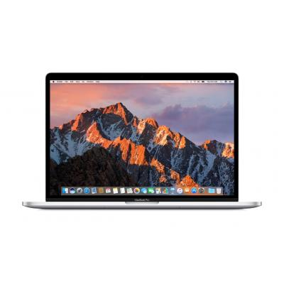 Apple laptop: MacBook Pro 15 (2017) Touch Bar - i7 - 512GB - Silver - Zilver